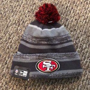 San Francisco 49ers NFL New Era Football Beanie